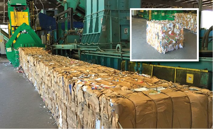 QRS Recycling Adds Bollegraaf HBC-120MR Baler to Louisville Facility