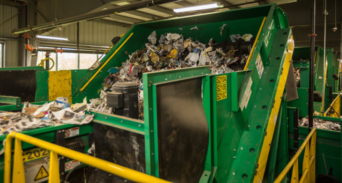 Diversified Recycling - screens from Van Dyk