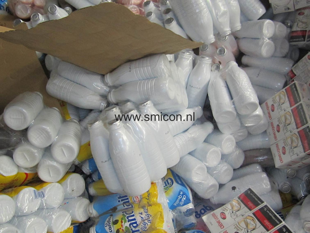 food waste recycling plastic bottled drinks