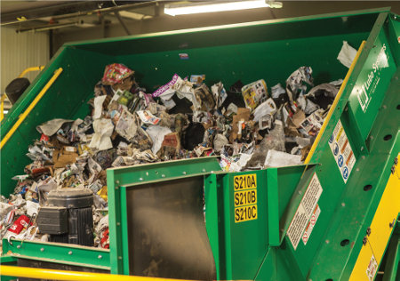 MRF sorting recycling questions