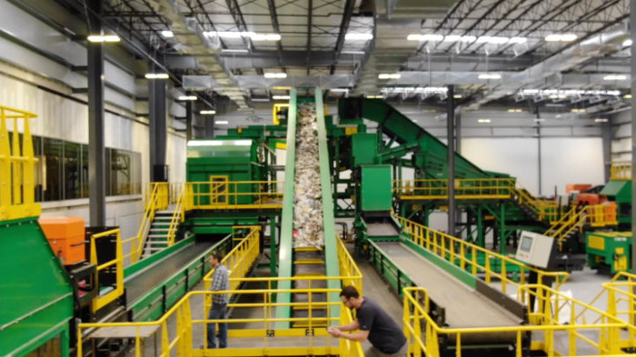 Van Dyk Recycling Solutions Material Test Center