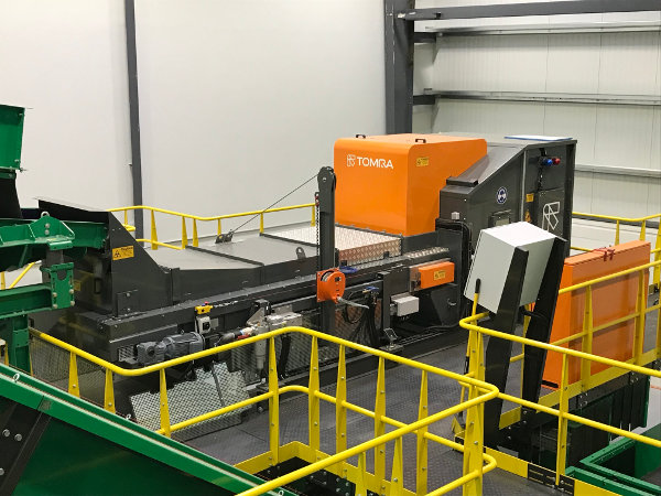 TOMRA Autosort Fines optical sorter