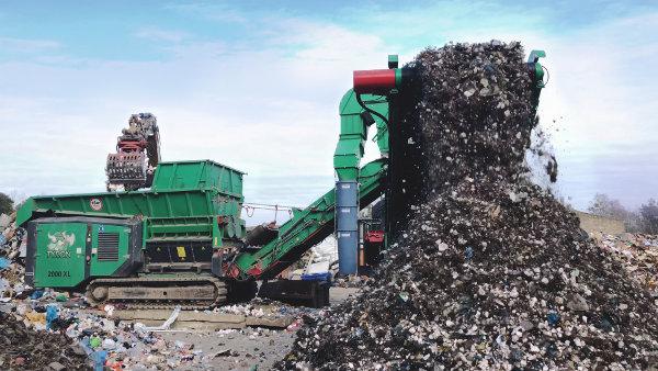 ARTHOS industrial waste shredder