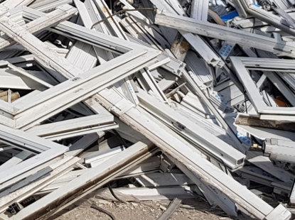 PVC frames shredding