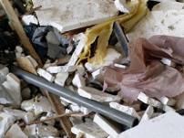 C&D waste shredding