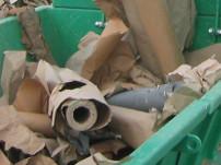 paper rolls shredding