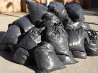 residential bags waste shredding